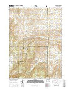Esterbrook Wyoming Current topographic map, 1:24000 scale, 7.5 X 7.5 Minute, Year 2015 from Wyoming Map Store