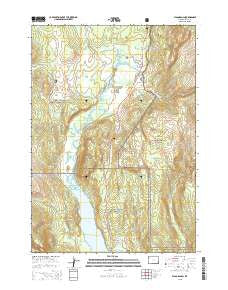 Flagg Ranch Wyoming Current topographic map, 1:24000 scale, 7.5 X 7.5 Minute, Year 2015