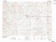 Gillette Wyoming Historical topographic map, 1:100000 scale, 30 X 60 Minute, Year 1972