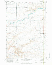 Gilmore Hill NW Wyoming Historical topographic map, 1:24000 scale, 7.5 X 7.5 Minute, Year 1966