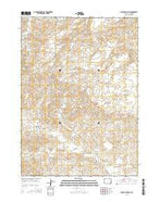 Holdup Hollow Wyoming Current topographic map, 1:24000 scale, 7.5 X 7.5 Minute, Year 2015 from Wyoming Map Store