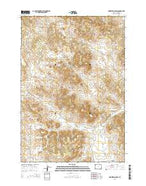 Homestead Draw Wyoming Current topographic map, 1:24000 scale, 7.5 X 7.5 Minute, Year 2015 from Wyoming Map Store