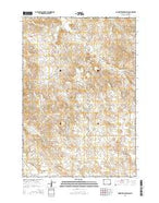 Homestead Draw SW Wyoming Current topographic map, 1:24000 scale, 7.5 X 7.5 Minute, Year 2015 from Wyoming Map Store