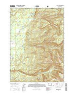 Hominy Peak Wyoming Current topographic map, 1:24000 scale, 7.5 X 7.5 Minute, Year 2015 from Wyoming Map Store