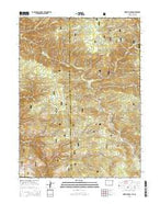 Horatio Rock Wyoming Current topographic map, 1:24000 scale, 7.5 X 7.5 Minute, Year 2015 from Wyoming Map Store