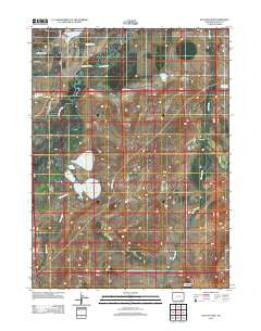 Hutton Lake Wyoming Historical topographic map, 1:24000 scale, 7.5 X 7.5 Minute, Year 2012