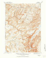 Ishawooa Wyoming Historical topographic map, 1:125000 scale, 30 X 30 Minute, Year 1893