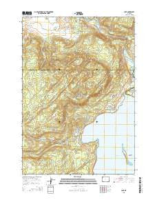 Lake Wyoming Current topographic map, 1:24000 scale, 7.5 X 7.5 Minute, Year 2015