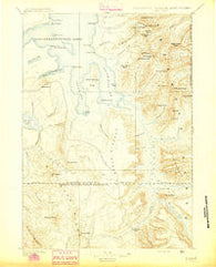 Lake Wyoming Historical topographic map, 1:125000 scale, 30 X 30 Minute, Year 1895