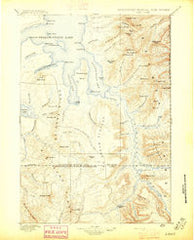 Lake Wyoming Historical topographic map, 1:125000 scale, 30 X 30 Minute, Year 1896
