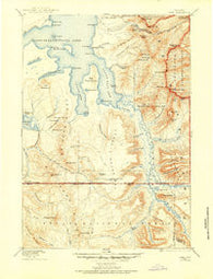Lake Wyoming Historical topographic map, 1:125000 scale, 30 X 30 Minute, Year 1885