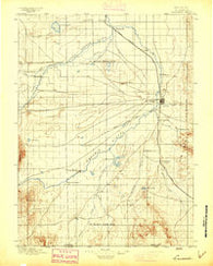 Laramie Wyoming Historical topographic map, 1:125000 scale, 30 X 30 Minute, Year 1895