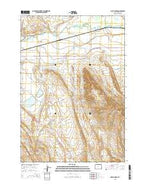 Lovell Lakes Wyoming Current topographic map, 1:24000 scale, 7.5 X 7.5 Minute, Year 2015 from Wyoming Map Store