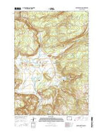 Lower Geyser Basin Wyoming Current topographic map, 1:24000 scale, 7.5 X 7.5 Minute, Year 2015 from Wyoming Map Store