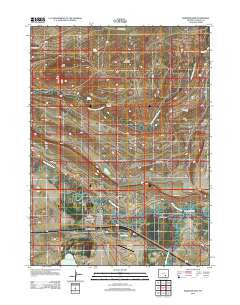 Medicine Bow Wyoming Historical topographic map, 1:24000 scale, 7.5 X 7.5 Minute, Year 2012