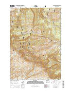 Medicine Wheel Wyoming Current topographic map, 1:24000 scale, 7.5 X 7.5 Minute, Year 2015 from Wyoming Map Store