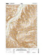 Meeteetse East Wyoming Current topographic map, 1:24000 scale, 7.5 X 7.5 Minute, Year 2015 from Wyoming Map Store