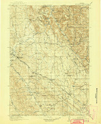 Moorcroft Wyoming Historical topographic map, 1:125000 scale, 30 X 30 Minute, Year 1918