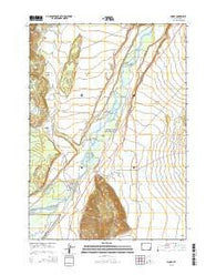 Moose Wyoming Current topographic map, 1:24000 scale, 7.5 X 7.5 Minute, Year 2015