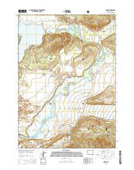 Moran Wyoming Current topographic map, 1:24000 scale, 7.5 X 7.5 Minute, Year 2015