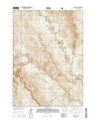 Morrisey NE Wyoming Current topographic map, 1:24000 scale, 7.5 X 7.5 Minute, Year 2015