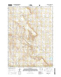 Morrisey SE Wyoming Current topographic map, 1:24000 scale, 7.5 X 7.5 Minute, Year 2015