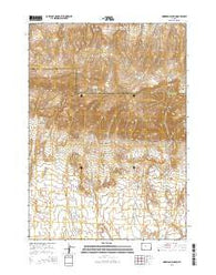 Morrison Canyon Wyoming Current topographic map, 1:24000 scale, 7.5 X 7.5 Minute, Year 2015