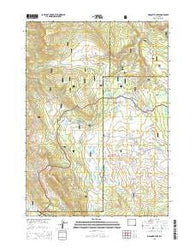 Mosquito Lake Wyoming Current topographic map, 1:24000 scale, 7.5 X 7.5 Minute, Year 2015