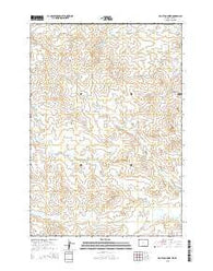 Moulton Creek Wyoming Current topographic map, 1:24000 scale, 7.5 X 7.5 Minute, Year 2015