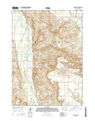 Mount Airy Wyoming Current topographic map, 1:24000 scale, 7.5 X 7.5 Minute, Year 2015