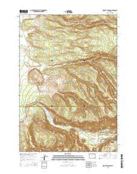 Mount Jackson Wyoming Current topographic map, 1:24000 scale, 7.5 X 7.5 Minute, Year 2015