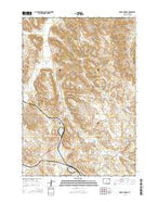 Moyer Springs Wyoming Current topographic map, 1:24000 scale, 7.5 X 7.5 Minute, Year 2015 from Wyoming Map Store