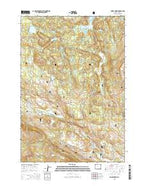 Muddy Creek Wyoming Current topographic map, 1:24000 scale, 7.5 X 7.5 Minute, Year 2015 from Wyoming Map Store