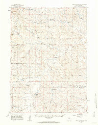 North Star School Wyoming Historical topographic map, 1:62500 scale, 15 X 15 Minute, Year 1959