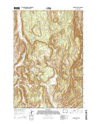 Obsidian Cliff Wyoming Current topographic map, 1:24000 scale, 7.5 X 7.5 Minute, Year 2015