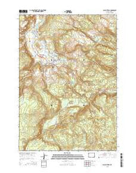 Old Faithful Wyoming Current topographic map, 1:24000 scale, 7.5 X 7.5 Minute, Year 2015