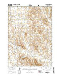 Open A Ranch Wyoming Current topographic map, 1:24000 scale, 7.5 X 7.5 Minute, Year 2015