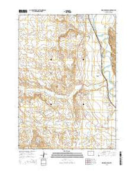 Orchard Bench Wyoming Current topographic map, 1:24000 scale, 7.5 X 7.5 Minute, Year 2015