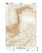 Oregon Basin Wyoming Current topographic map, 1:24000 scale, 7.5 X 7.5 Minute, Year 2015 from Wyoming Map Store