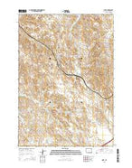 Oriva Wyoming Current topographic map, 1:24000 scale, 7.5 X 7.5 Minute, Year 2015 from Wyoming Map Store