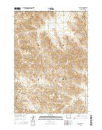 Oriva NW Wyoming Current topographic map, 1:24000 scale, 7.5 X 7.5 Minute, Year 2015 from Wyoming Map Store
