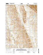 Osage SE Wyoming Current topographic map, 1:24000 scale, 7.5 X 7.5 Minute, Year 2015 from Wyoming Map Store