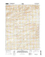 Osborne Well Wyoming Current topographic map, 1:24000 scale, 7.5 X 7.5 Minute, Year 2015 from Wyoming Map Store