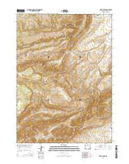 Otter Creek Wyoming Current topographic map, 1:24000 scale, 7.5 X 7.5 Minute, Year 2015 from Wyoming Map Store