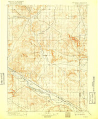 Patrick Wyoming Historical topographic map, 1:125000 scale, 30 X 30 Minute, Year 1896