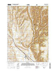 Pedro Wyoming Current topographic map, 1:24000 scale, 7.5 X 7.5 Minute, Year 2015