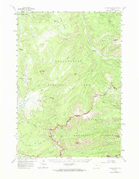 Pelican Cone Wyoming Historical topographic map, 1:62500 scale, 15 X 15 Minute, Year 1959