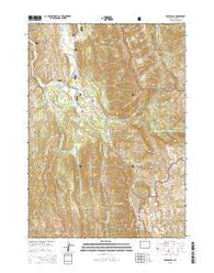 Pickle Pass Wyoming Current topographic map, 1:24000 scale, 7.5 X 7.5 Minute, Year 2015
