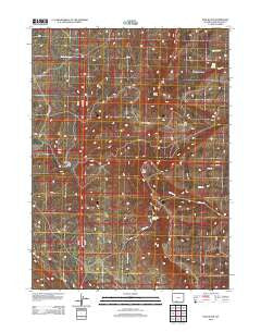 Pine Butte Wyoming Historical topographic map, 1:24000 scale, 7.5 X 7.5 Minute, Year 2012