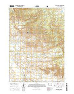 Pocket Creek Lake Wyoming Current topographic map, 1:24000 scale, 7.5 X 7.5 Minute, Year 2015 from Wyoming Map Store